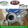 Bomba De Aceite Kia Rio Stylus 1.5
