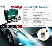 Luces Led Para Vehículos Y Motos: H7, H11, 9005 Y 9006