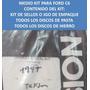 Medio Master Kit Caja Ford C6 Anillos Teflon