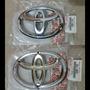 Emblema Logo Parrilla Toyota Hilux Fortuner 06 15 Original