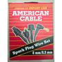 Juego De Cables Para Bujia Corcel Del Rey 4697
