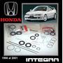 Integra 1998 2001 Kit Cajetin Direccion Hidra Original Honda