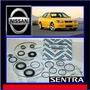 Sentra B15 2001-06 Kit Cajetín Direccíon Hid Original Nissan