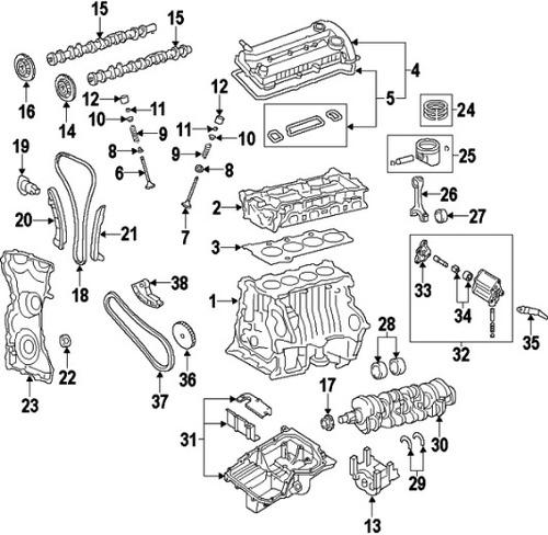 repuestos, culata, empaquetadura, radiador, etc mazda cx7