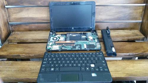 repuestos de mini lapto hp 110, teclado, placa base, ram,etc