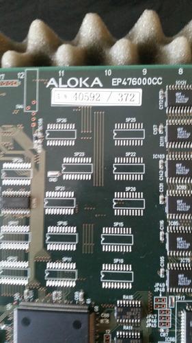 repuestos ecógrafo aloka prosound ssd- 3500/ ep476000cc