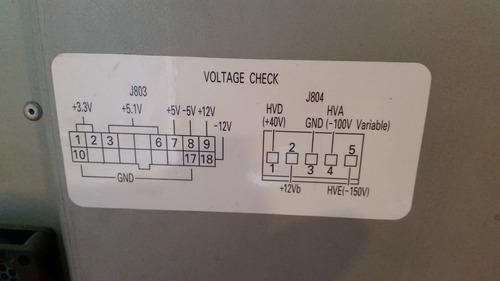 repuestos ecógrafo aloka prosound ssd- 3500/ power supply