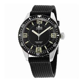 c1db74ddab14 Oris Divers Sixty-five Black Dial Mens Watch 733-7707-4064bk