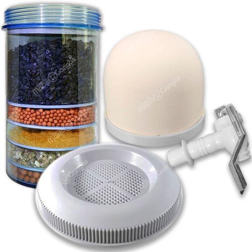 repuestos filtro purificador de agua 14 litros 4 piezas