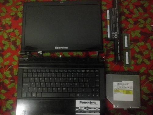 repuestos laptop soneview n1410