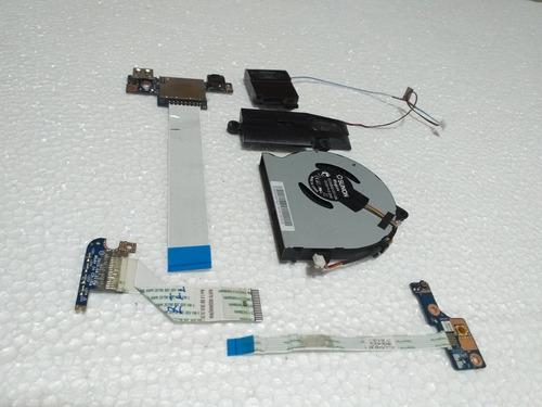 repuestos lenovo g40-80 ventilador parlantes boton power