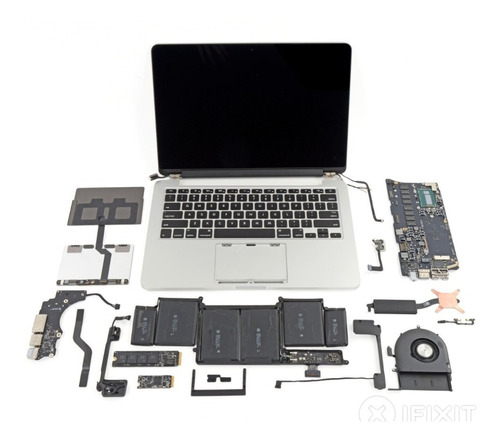 repuestos  macbook pro retina 13'' a1502 originales