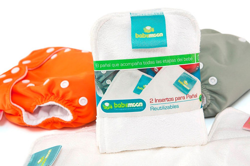 repuestos pañal para bebe  ecologico x 2