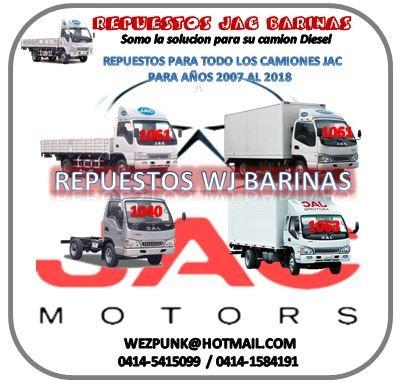 repuestos para camiónes jac 1061 & 1040 originales (07-17)
