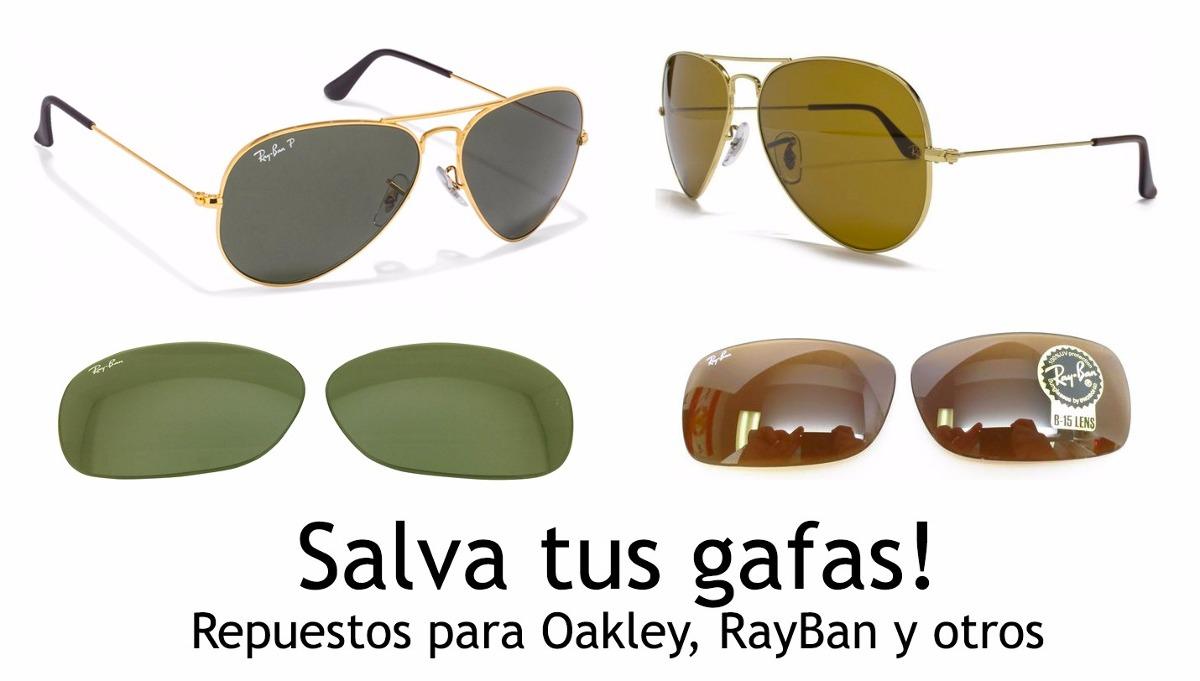fotos nuevas gran ajuste como serch Repuestos Para Lentes Gafas Oakley Rayban Originales - en ...