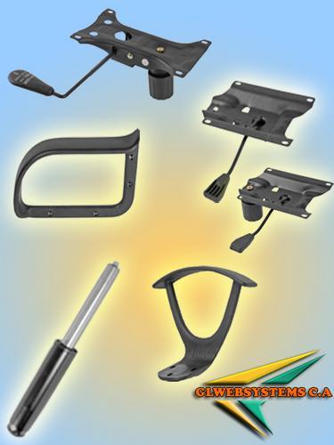 Repuestos para tus sillas bases hidraulicos brazos for Repuestos sillas de oficina