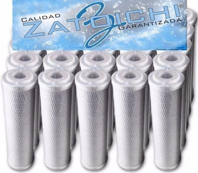 repuestos p/filtro de agua 5 micrones zatoichi combo x 4 u