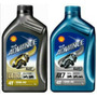Aceite Shell Advance Ultra Para Motos De Alto Cilindraje