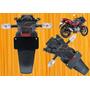 Tapabarro Posterior Pulsar 180 Yamaha Fz Honda Cbr R15 Bajaj