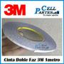 Cinta 3m Doble Faz 1metro Telefonos Movil Mica Tactil