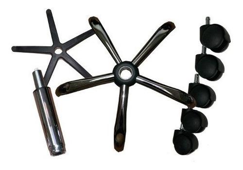 repuestos sillas / sillones, bases metal, ruedas, hidraulico