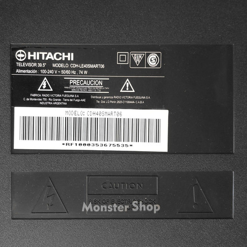 repuestos smart tv hitachi cdh-le40smart06