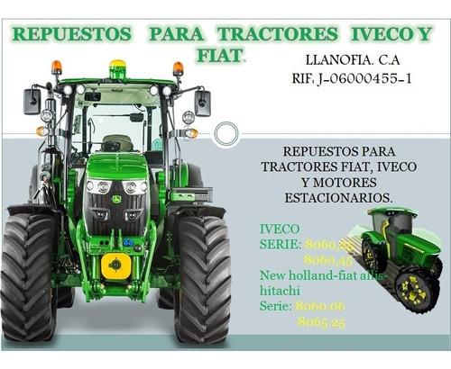 repuestos tractores y cosechadoras  iveco y fiat.