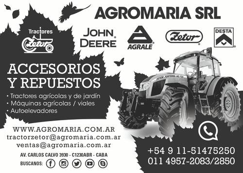 repuestos tractores zetor - john deere - agrale - desta