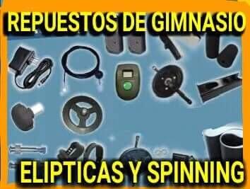 repuestos y accesorios para gimnasios y bicicletas