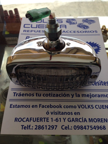 repuestos y accesorios para vw escarabajo luz de retro