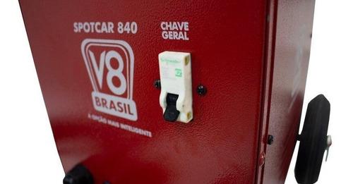 repuxadeira elétrica spotcar spotter 840 220v v8 brasil-840
