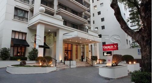 requinte e sofisticação, hotel george v casa branca - sf26708