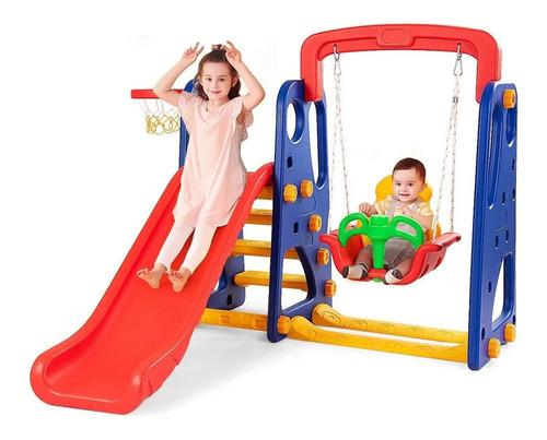 resbaladera columpio infantil 4 en 1 para niños - mr price