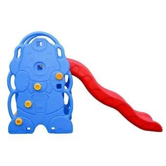 resbaladera para niños plastico duro 3 en 1: basket + aros