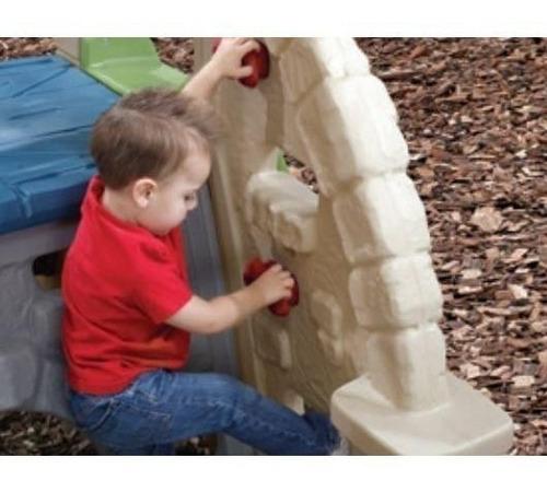 resbaladilla interactiva con paredes para escalar  step 2