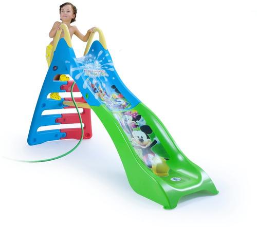 resbaladilla tobogan juegos jardin infantil mickey injusa
