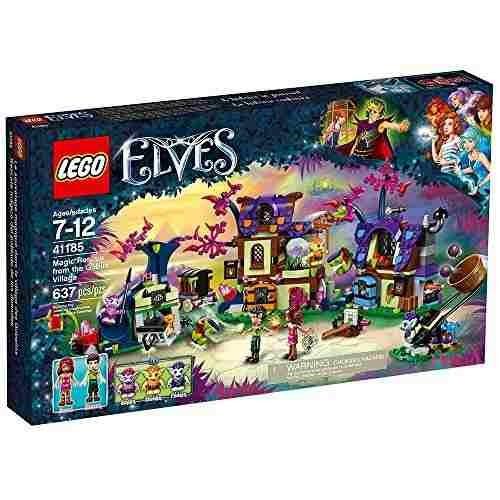rescate mágico de los elfos de la aldea de los duendes, jugu