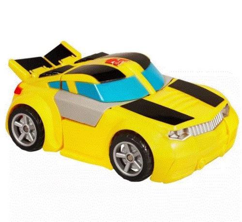 rescue bots transformers hasbro niños carro amarillo