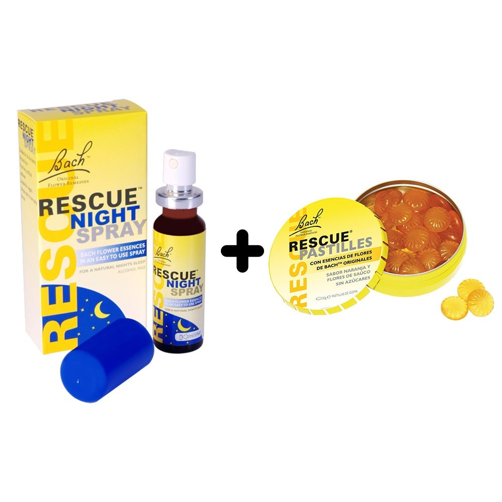 Rescue Remedy Night Spray 20ml Regalo Rescue Pastillas 799 00