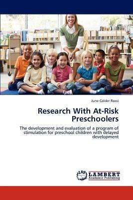 research with at-risk preschoolers; rossi, june envío gratis