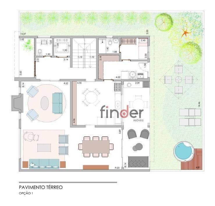 reserva 8 | casa com 5 dormitórios à venda, 415 m², com piscina e jardim privativo - alto da boa vista - são paulo/sp - ca0818