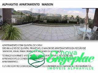 reserva alpha sitio maison - térreo alphaville sp - ap01647 - 31916605