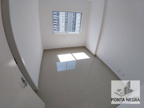 reserva das aguas, com 3 suites, porcelanato e varanda gourmet, à venda, 132 m² - ponta negra - manaus/am - ap0546