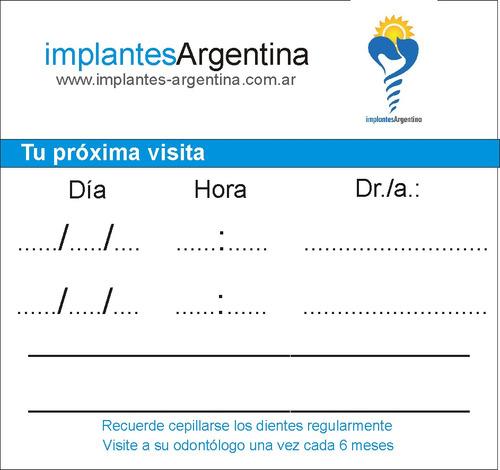 reserva de turno implantesargentina