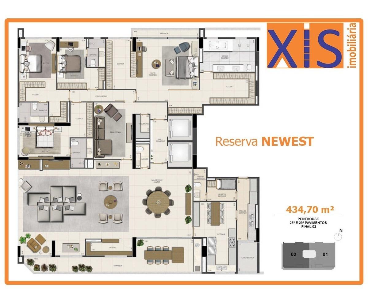 reserva newest, setor oeste, 221m