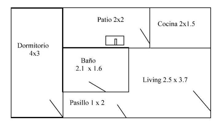 reservado!!!alquiler apartamento 1 dorm en brazo oriental