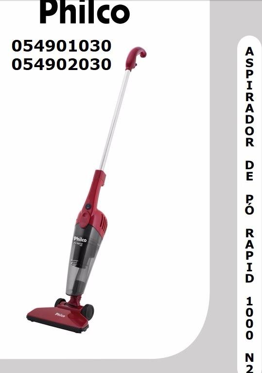 088a02f41 Reservatório Aspirador Pó Portátil Philco Ph Rapid 1000 N2 - R  35 ...