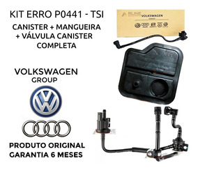 Reservatório Canister + Valvula Canister Jetta Tsi Fusca Vw