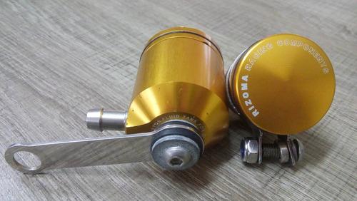 reservatório fluído freio rizoma original dianteiro traseiro