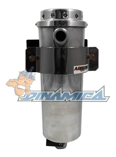 reservatório respiro do óleo 600 ml em alumínio